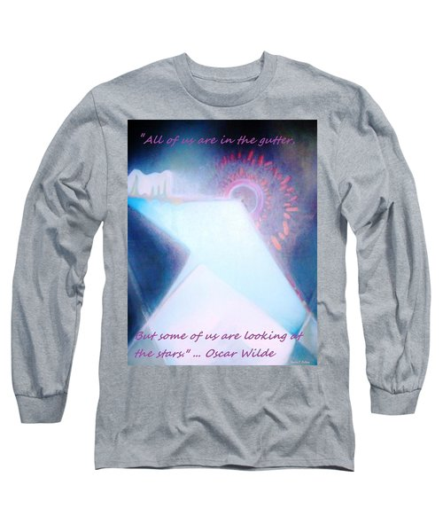 Long Sleeve T-Shirt featuring the painting Act Of Creation by Denise Fulmer