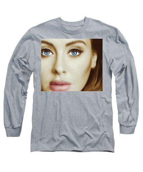 Adele Painting Circle Pattern 1 Long Sleeve T-Shirt