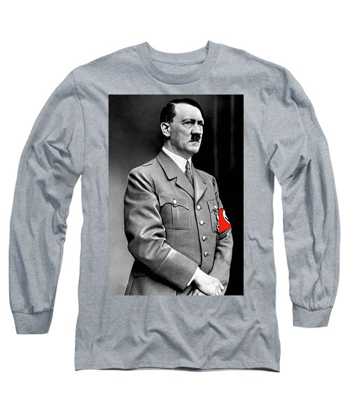 Adolf Hitler The Visionary Circa 1941 Color Added 2016 Long Sleeve T-Shirt