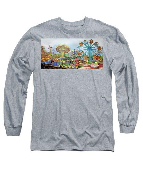 Adventureland Towel Version Long Sleeve T-Shirt