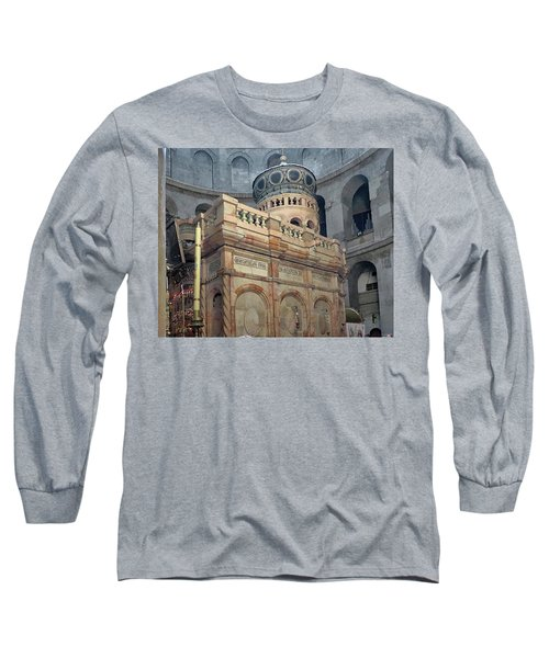 Aedicule Of The Holy Sepulchre Long Sleeve T-Shirt