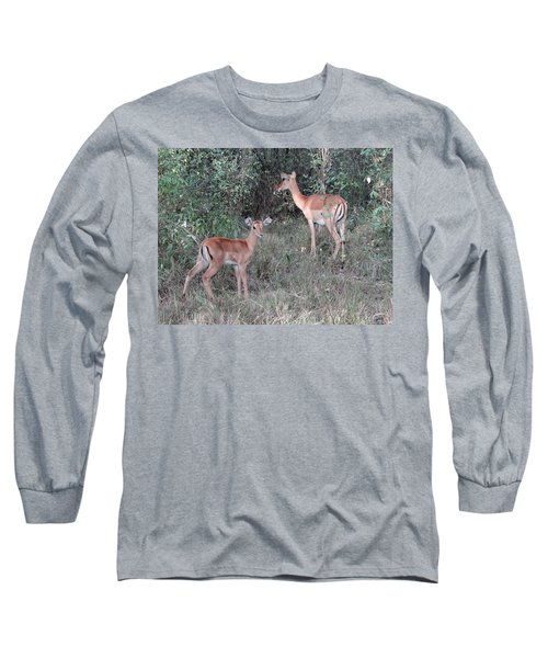 Africa - Animals In The Wild 2 Long Sleeve T-Shirt by Exploramum Exploramum