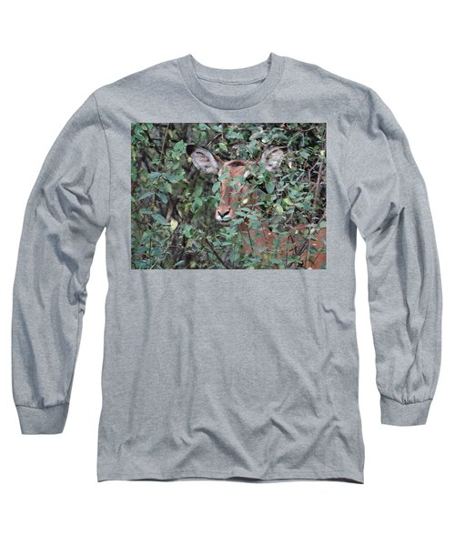 Africa - Animals In The Wild 4 Long Sleeve T-Shirt