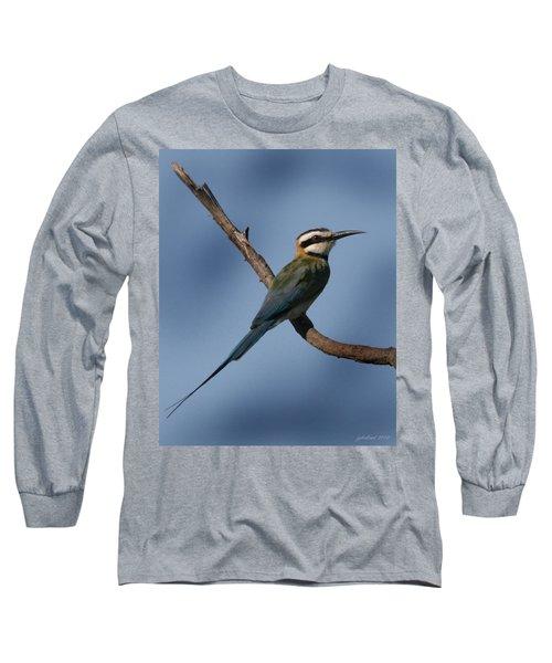 African Bee Eater Long Sleeve T-Shirt