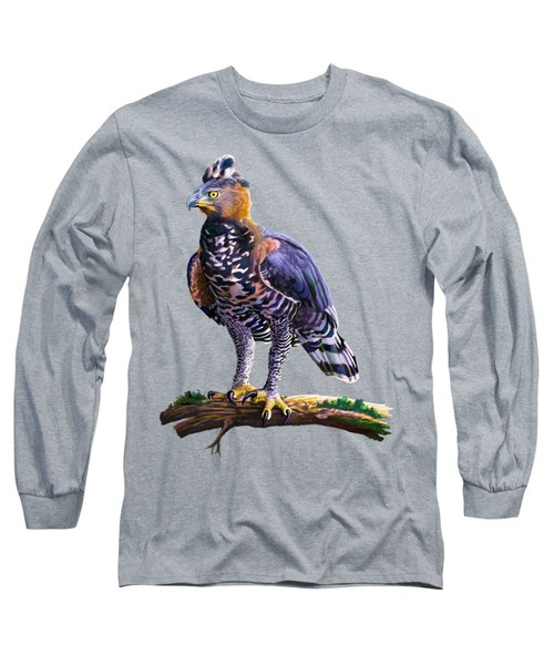 African Crowned Eagle  Long Sleeve T-Shirt