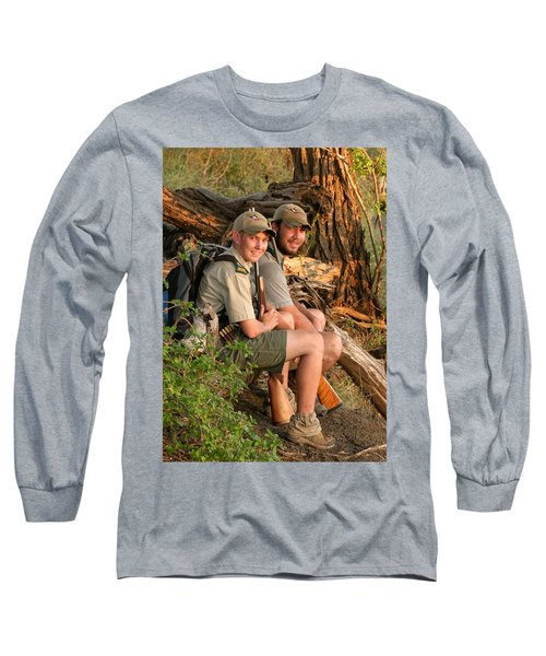 African Game Guides Long Sleeve T-Shirt