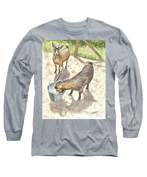 African Goats Long Sleeve T-Shirt