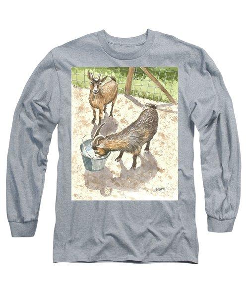 African Goats Long Sleeve T-Shirt