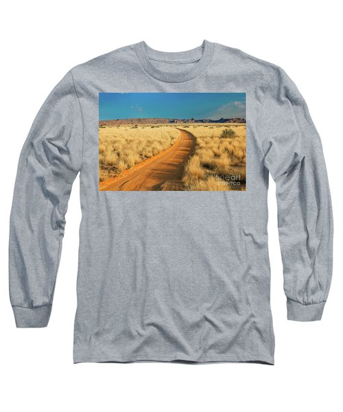 African Sand Road Long Sleeve T-Shirt