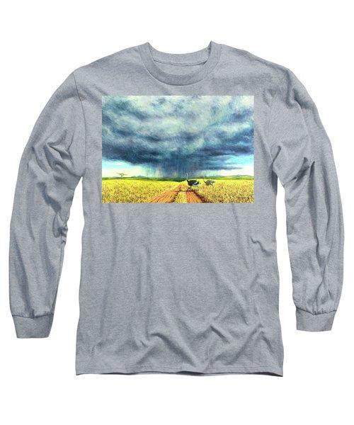 African Storm Long Sleeve T-Shirt