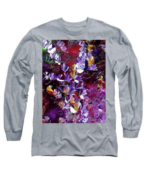 African Violet Awake #4 Long Sleeve T-Shirt