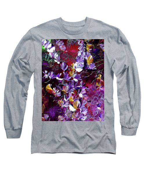 African Violet Awake #4 Long Sleeve T-Shirt