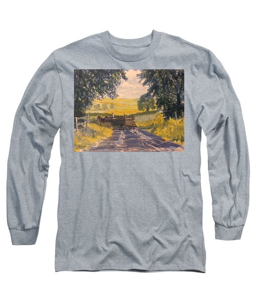 After Rain On The Wolds Way Long Sleeve T-Shirt