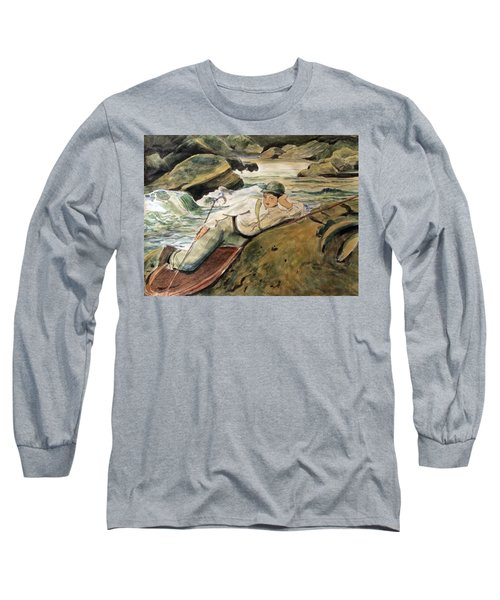 After Sargent Long Sleeve T-Shirt by Nancy Kane Chapman