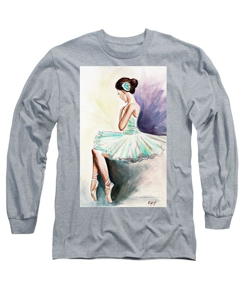 After The Performance Long Sleeve T-Shirt by Elizabeth Robinette Tyndall