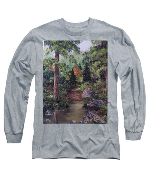 After The Rains Long Sleeve T-Shirt by Megan Walsh