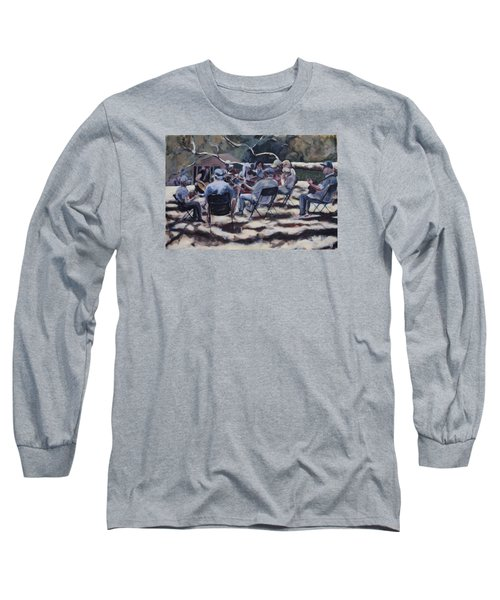 Afternoon Pickers Long Sleeve T-Shirt by Richard Willson
