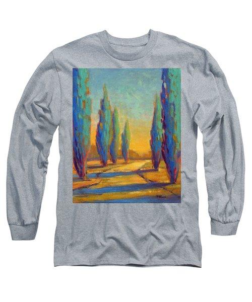 Afternoon Shadows 4 Long Sleeve T-Shirt