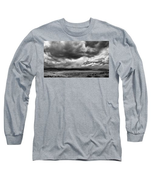 Afternoon Storm Couds Long Sleeve T-Shirt by Monte Stevens