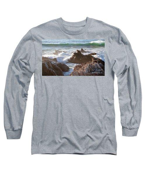 Afternoon Sun At Montana De Oro Long Sleeve T-Shirt
