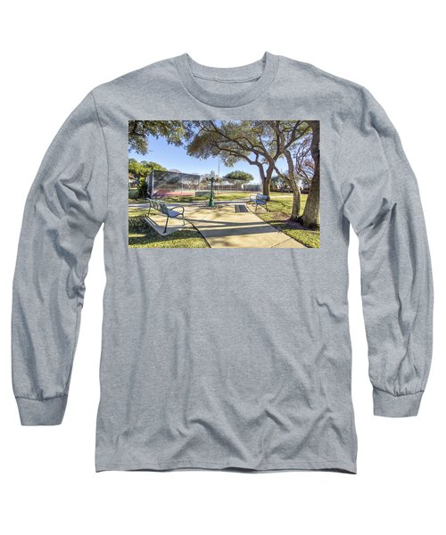 Afternoon Tennis Long Sleeve T-Shirt by Ricky Dean