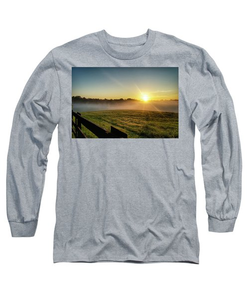 Afton Va Sunrise Long Sleeve T-Shirt