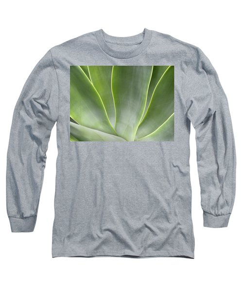 Agave Leaves Long Sleeve T-Shirt