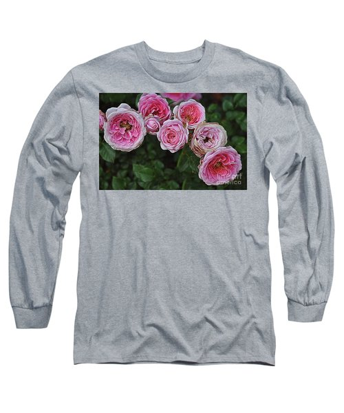 Long Sleeve T-Shirt featuring the photograph Aging Beauties by Gina Savage