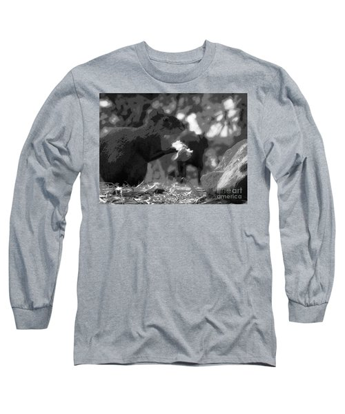 Agouti At Supper Long Sleeve T-Shirt