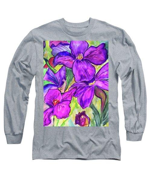 Ah, Iris Long Sleeve T-Shirt