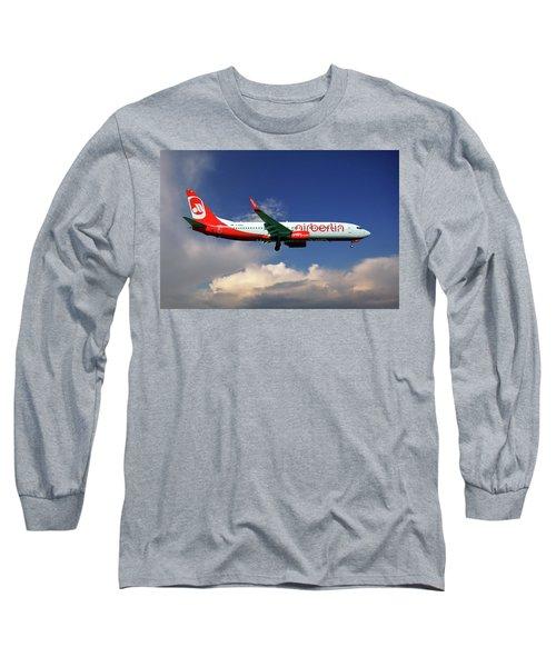 Air Berlin Boeing 737-800 Long Sleeve T-Shirt