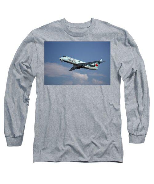 Air Canada Express Bombardier Crj-200er Long Sleeve T-Shirt