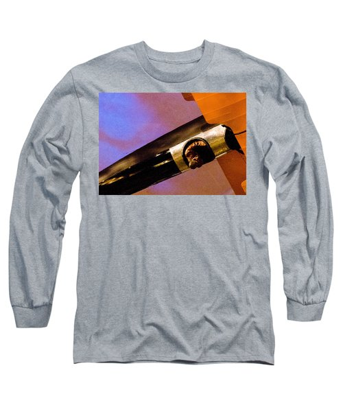 Air Mail Long Sleeve T-Shirt by Michael Nowotny