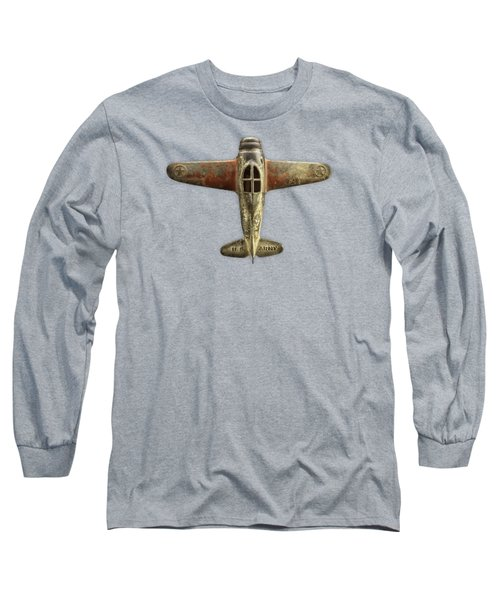 Airplane Scrapper Long Sleeve T-Shirt by YoPedro