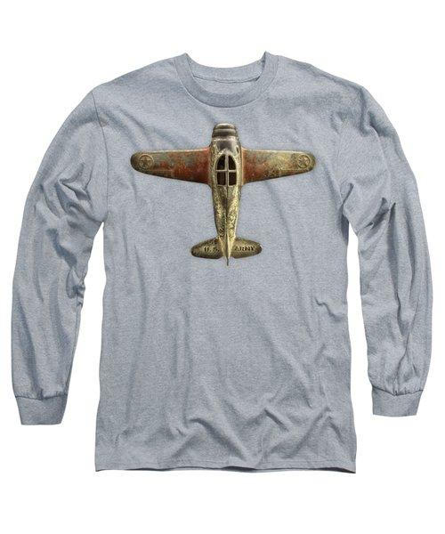 Airplane Scrapper Long Sleeve T-Shirt