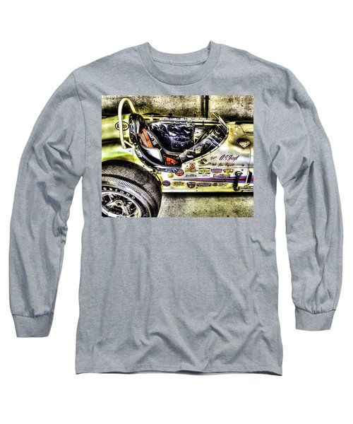 Aj Foyt 1961 Cockpit Long Sleeve T-Shirt