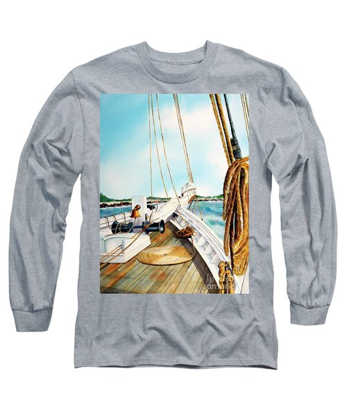 A.j. Meerwald-coming Home Long Sleeve T-Shirt