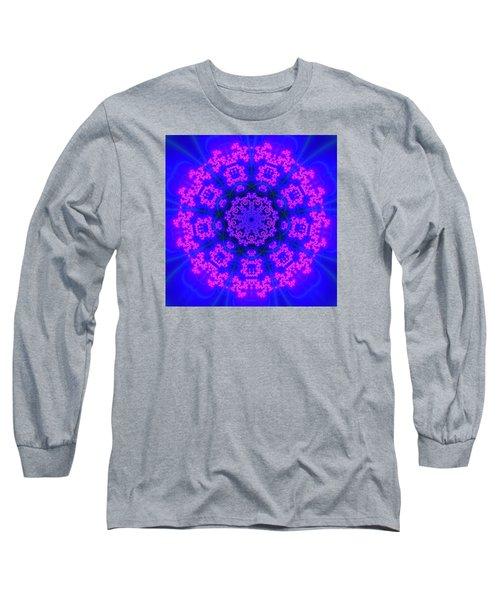 Long Sleeve T-Shirt featuring the digital art Akbal 9 Beats 4 by Robert Thalmeier