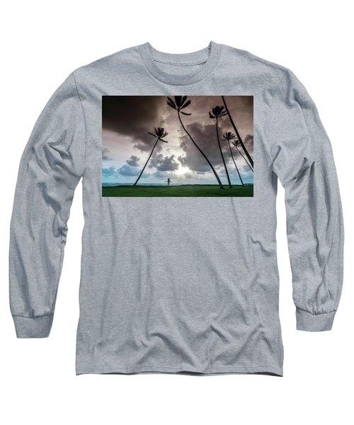 Alaia Palms Long Sleeve T-Shirt