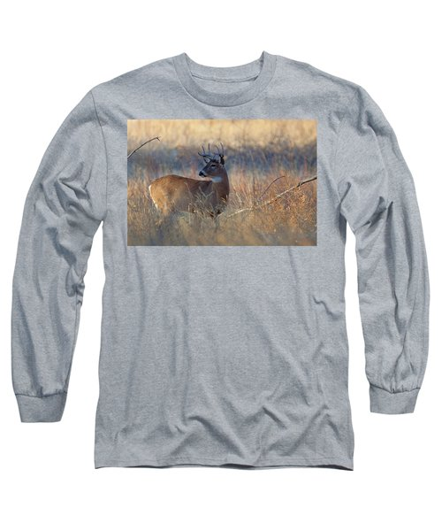 Long Sleeve T-Shirt featuring the photograph Alarm by Jim Garrison