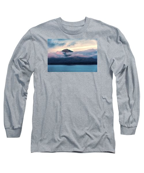 Alaska Dawn 2 Long Sleeve T-Shirt by Lewis Mann