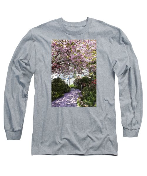 Alaska In Blossom Long Sleeve T-Shirt