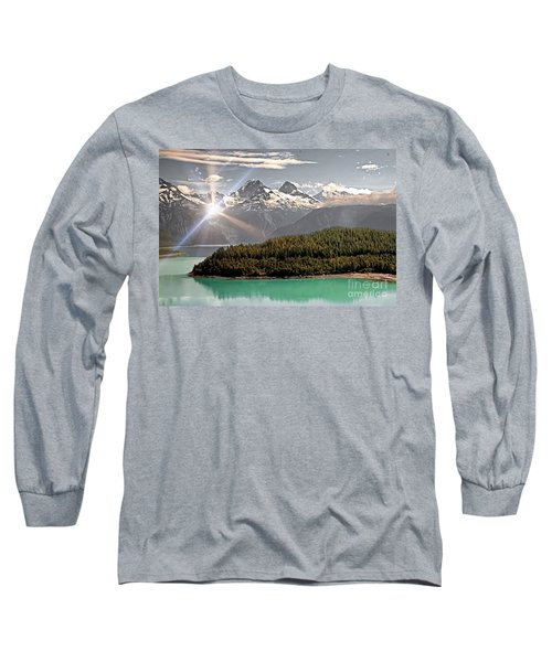 Alaskan Mountain Reflection Long Sleeve T-Shirt