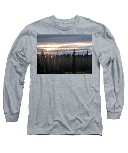 Alaskan Sunset Sunrise Long Sleeve T-Shirt