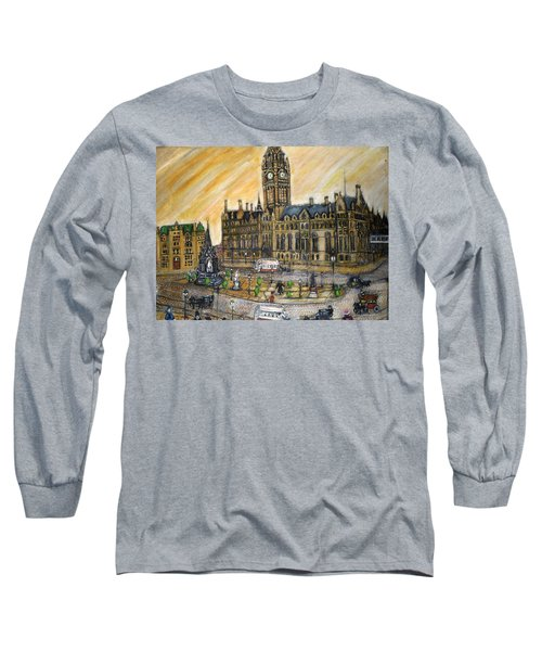 Albert Square Manchester 1900 Long Sleeve T-Shirt