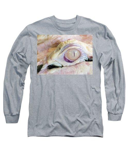 Albino Alligator Long Sleeve T-Shirt