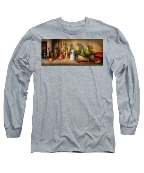 Long Sleeve T-Shirt featuring the photograph Alchemy - The Home Alchemist by Mike Savad