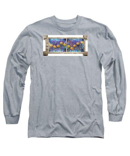 Alien Flowers Long Sleeve T-Shirt