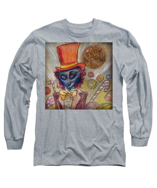 Alien Wonka And The Chocolate Factory Long Sleeve T-Shirt