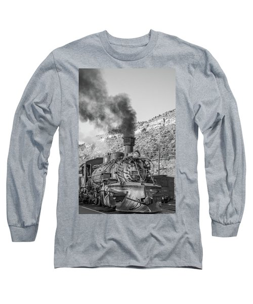 Long Sleeve T-Shirt featuring the photograph All Aboard by Colleen Coccia